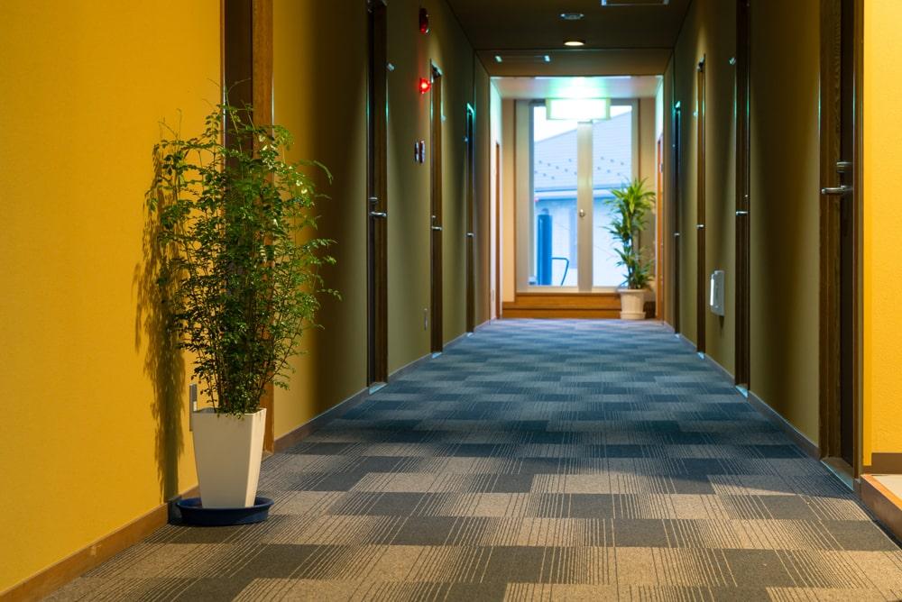 館内イメージ2階廊下